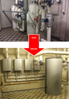 Indirect versus direct gasgestookt Rinnai B3 heating