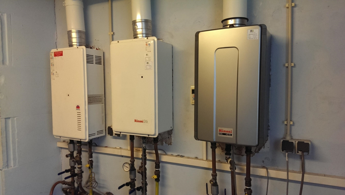 Vervanging WSC in Rinnai HD50i van B3heating